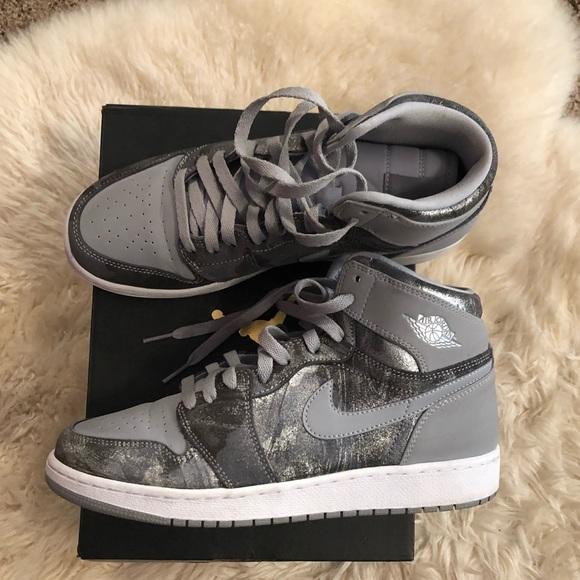 competitive price fad11 6611d Jordan Shoes - Air Jordan 1 Retro High Prem GG Wolf Grey Sz 8